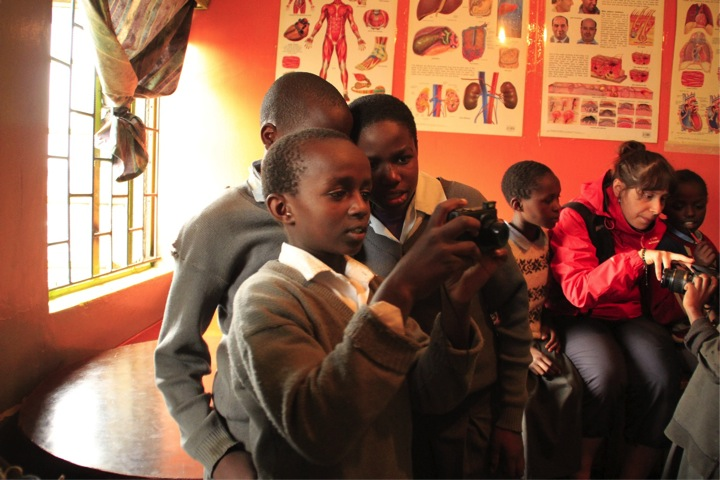 Photos by students at the Mwelu Foundation.