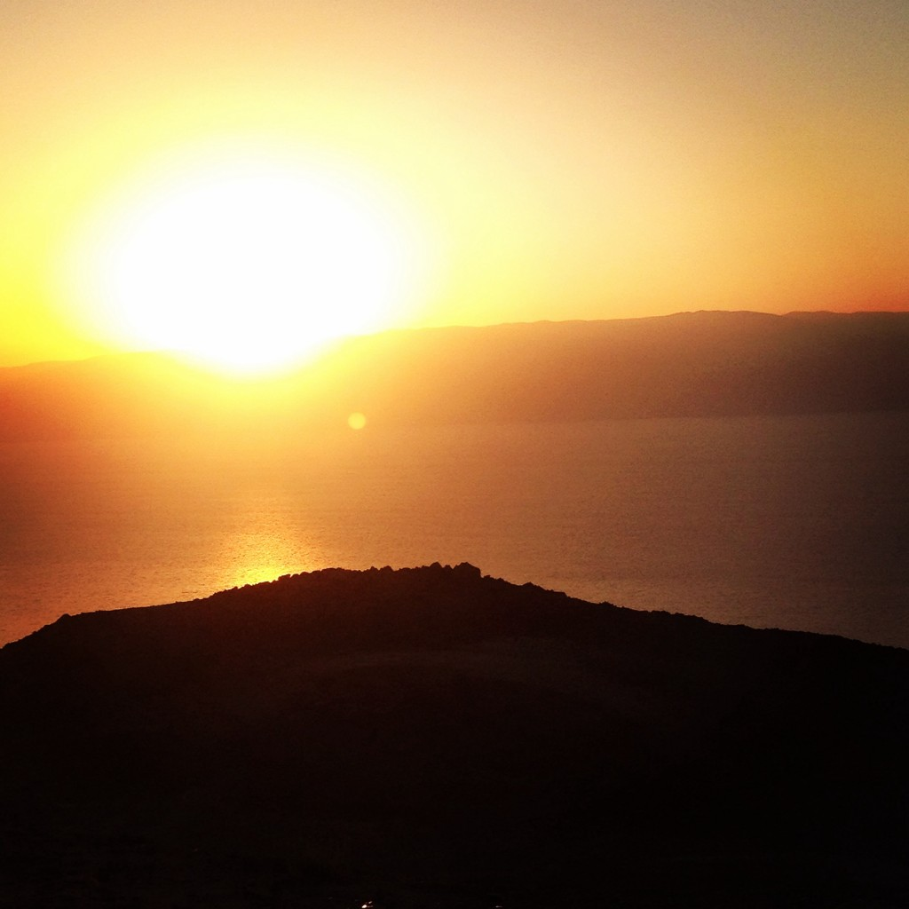 Sunrise by the Dead Sea