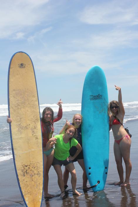 Disorientation surf camp
