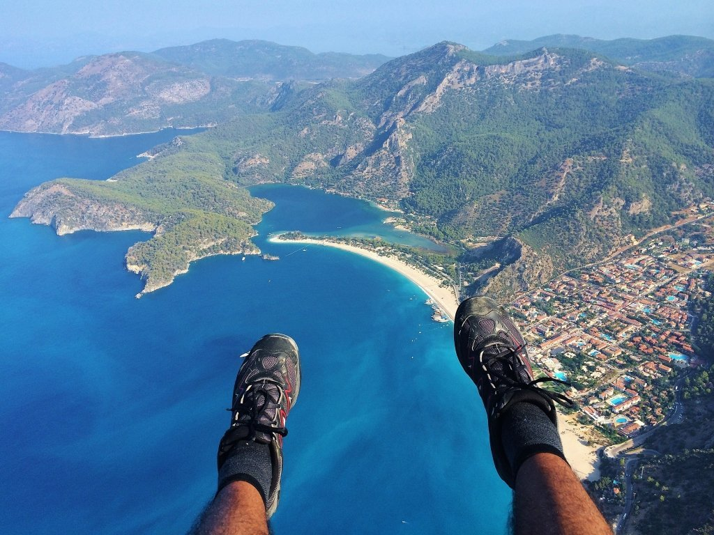 Gliding through the Turquoise Coast - Muneeb Chaudhary
