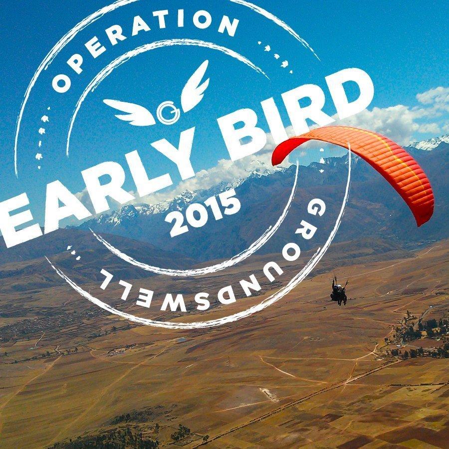 2015 Early Bird Promo
