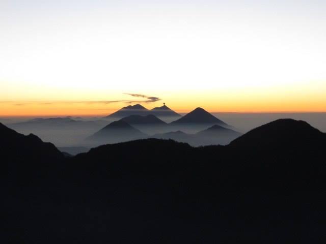 Santa Maria at sunrise