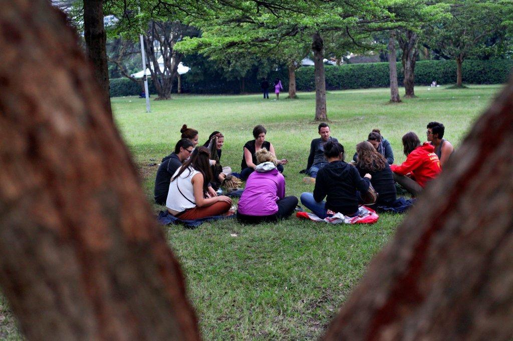 Picnic in Uhuru Park