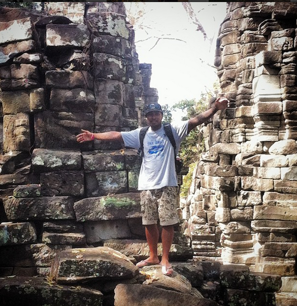 Samnang at Banteay Chhmar