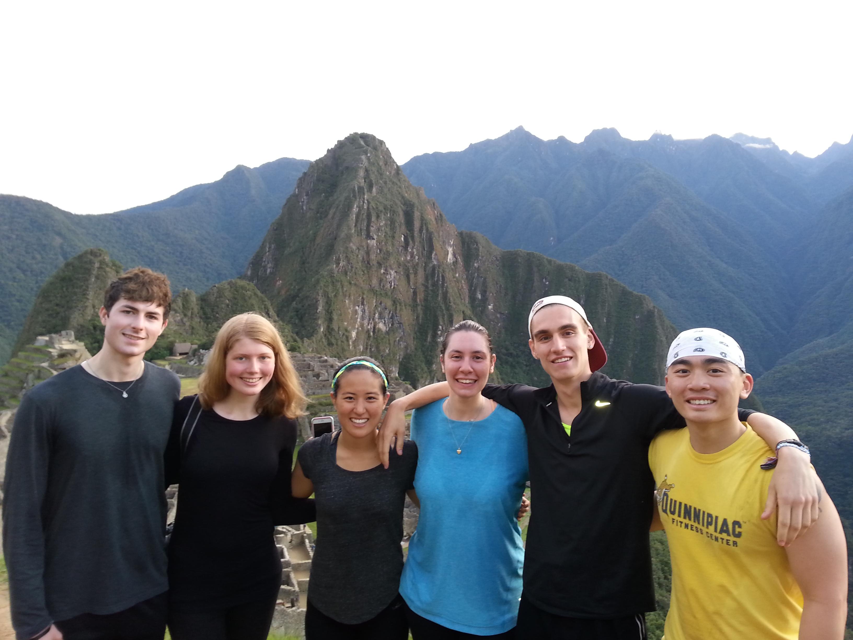 Machu Picchu Boston University 2015