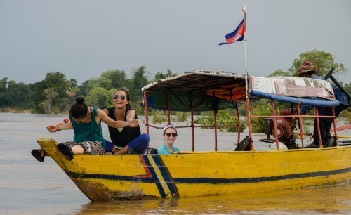 Fun on the Mekong